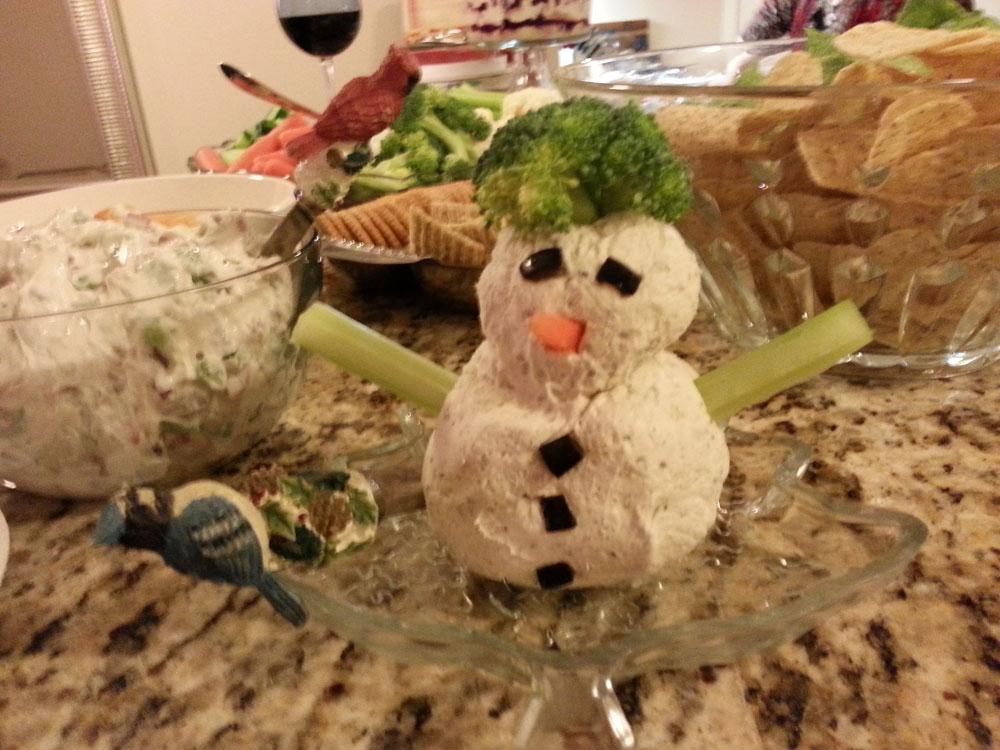 recipe, cheese, snowman