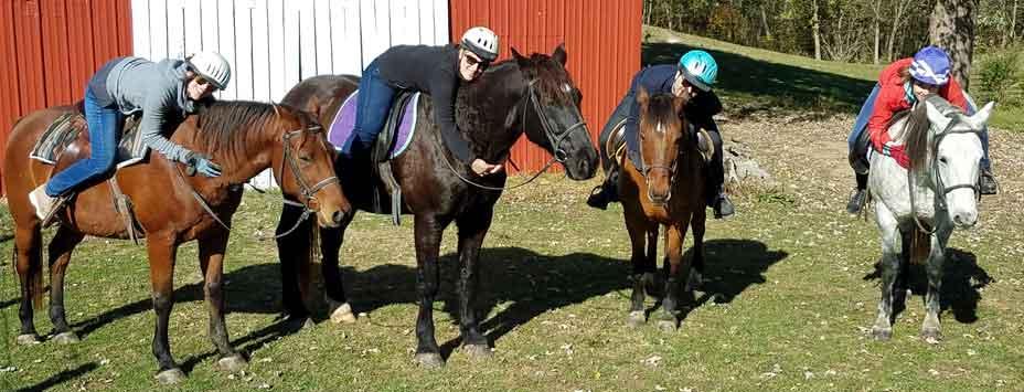 First Farm Inn, horseback rides, trail ride,