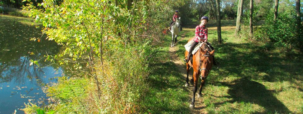 Ride horses at First Farm Inn Cincinnati, Kentucky