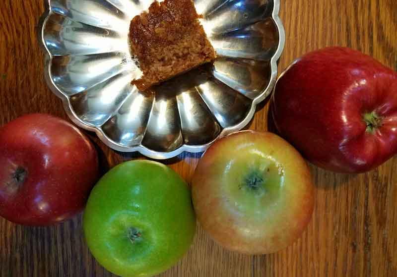 recipes, apple cake, First Farm Inn