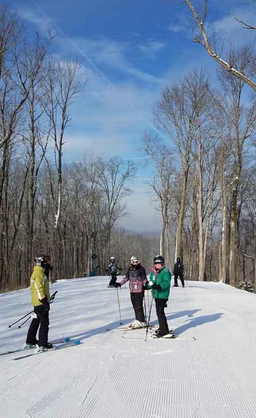 Perfect North ski slopes