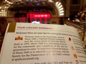 Cincinnati's Music Hall